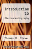 cover of Introduction to Electrocardiography (2nd edition)