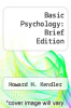 cover of Basic Psychology: Brief Edition