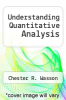 cover of Understanding Quantitative Analysis