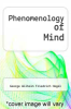 cover of Phenomenology of Mind