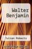 cover of Walter Benjamin
