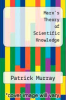cover of Marx`s Theory of Scientific Knowledge