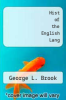 cover of Hist of the English Lang