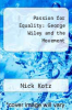 cover of Passion for Equality: George Wiley and the Movement