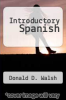 cover of Introductory Spanish