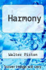 cover of Harmony (3rd edition)