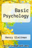 cover of Basic Psychology (4th edition)