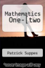 cover of Mathematics One-[two
