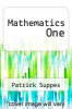 cover of Mathematics One
