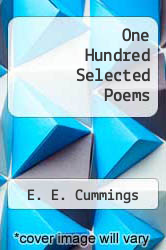 Cover of One Hundred Selected Poems EDITIONDESC (ISBN 978-0394172194)