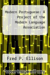 Cover of Modern Portuguese: A Project of the Modern Language Association EDITIONDESC (ISBN 978-0394302300)