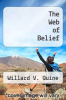 cover of The Web of Belief (2nd edition)