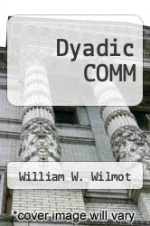 Cover of Dyadic COMM 2 (ISBN 978-0394349947)