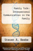 cover of Family Talk: Interpersonal Communication in the Family