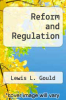 cover of Reform and Regulation (2nd edition)