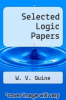 cover of Selected Logic Papers