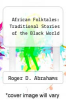 cover of African Folktales: Traditional Stories of the Black World