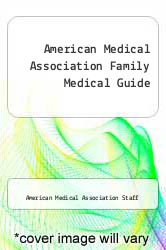 Cover of American Medical Association Family Medical Guide EDITIONDESC (ISBN 978-0394530130)