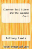 cover of Clarence Earl Gideon and the Supreme Court