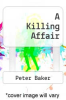 cover of A Killing Affair