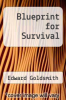 cover of Blueprint for Survival