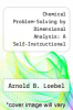 cover of Chemical Problem-Solving by Dimensional Analysis: A Self-Instructional Program