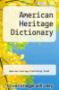cover of American Heritage Dictionary