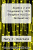 cover of Algebra 2 and Trigonometry 1978 (Houghton Mifflin Mathematics)