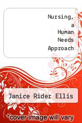 Cover of Nursing, a Human Needs Approach 2 (ISBN 978-0395296424)