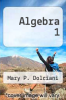 cover of Algebra 1