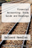 cover of Financial Accounting: Study Guide and Readings