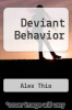 cover of Deviant Behavior (2nd edition)
