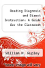 cover of Reading Diagnosis and Direct Instruction: A Guide for the Classroom (2nd edition)