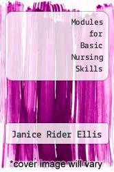 Cover of Modules for Basic Nursing Skills 3 (ISBN 978-0395344644)