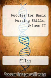 Cover of Modules for Basic Nursing Skills 4 (ISBN 978-0395356579)