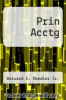 cover of Prin Acctg