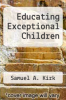 cover of Educating Exceptional Children (5th edition)