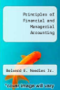cover of Principles of Financial and Managerial Accounting