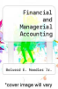 cover of Financial and Managerial Accounting (2nd edition)