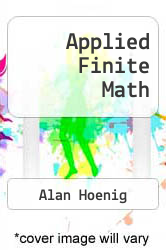 Cover of Applied Finite Math EDITIONDESC (ISBN 978-0395637814)