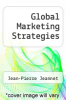 cover of Global Marketing Strategies (3rd edition)