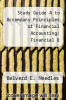 cover of Study Guide A to Accompany Principles of Financial Accounting: Financial & Managerial Accounting: A Sole Proprietorship Approach Chapters 1-14,27 and 28