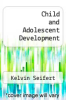 cover of Child and Adolescent Development