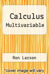 Cover of Calculus Multivariable 6 (ISBN 978-0395885772)