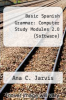 Basic Spanish Gram. - Comp. Stdy. Modern 2.0- (Software) by Jarvis - ISBN 9780395963371