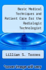 cover of Basic Medical Techniques and Patient Care for the Radiologic Technologist (3rd edition)