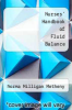 cover of Nurses` Handbook of Fluid Balance (4th edition)