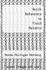 cover of Quick Reference to Fluid Balance
