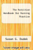 cover of The Nutrition Handbook for Nursing Practice