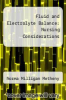 cover of Fluid and Electrolyte Balance: Nursing Considerations (3rd edition)